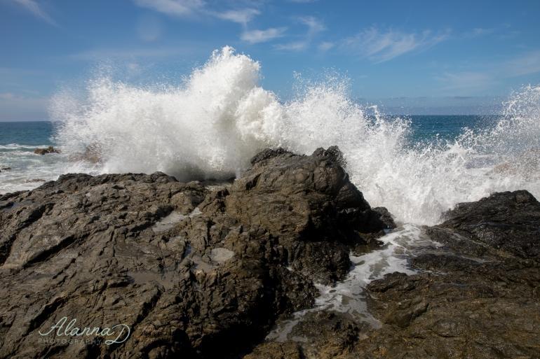 Capturing the Intense Surf at Cerritos Beach - Alanna D Photography