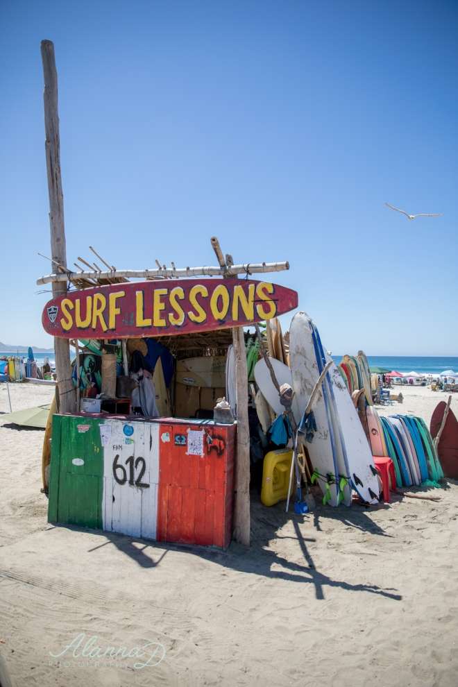 Surf Shack Cerritos Beach Mexico - Alanna D Photography